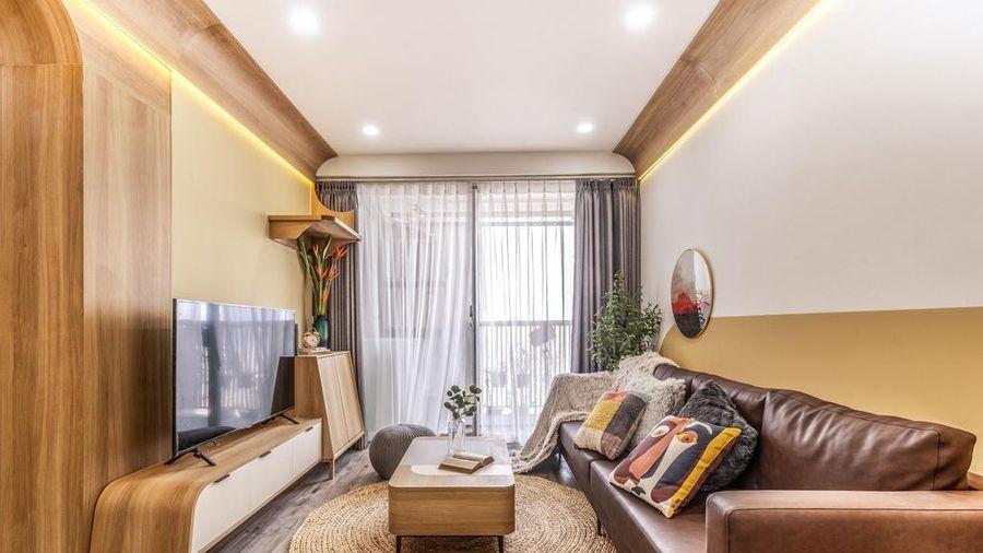 Căn chung cư tràn ngập ánh sáng tại Hà Nội