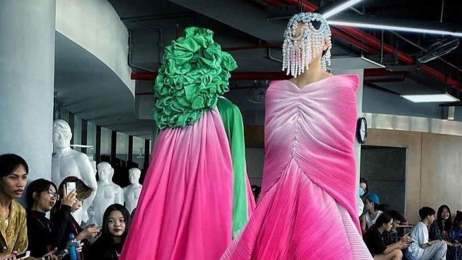 Đồ án thiết kế thời trang của sinh viên ĐH Văn Lang