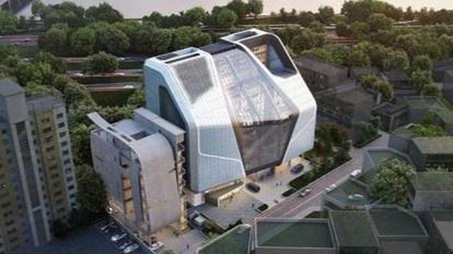 Tòa nhà tốn 8 năm xây dựng của YG Entertainment