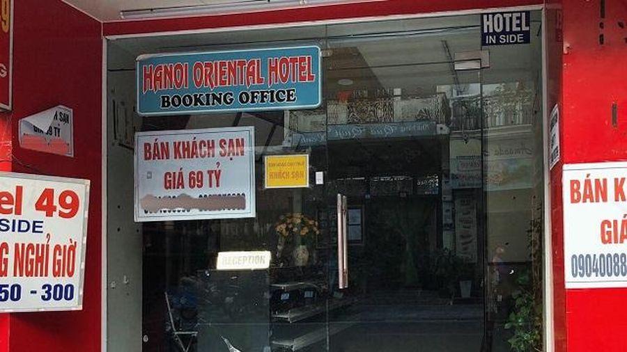 Nhiều khách sạn bị rao bán vì thua lỗ