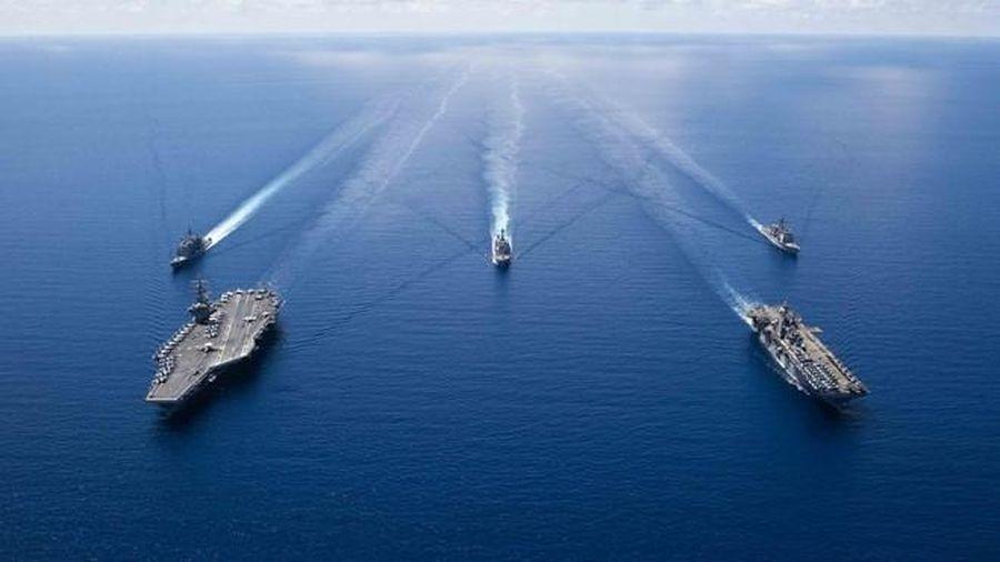 Mỹ 'đan lưới' bủa vây Trung Quốc: [Bài 2] Tầm quan trọng của 'Tứ giác kim cương' và các chuỗi đảo