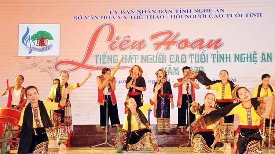 Liên hoan Tiếng hát Người cao tuổi tỉnh Nghệ An