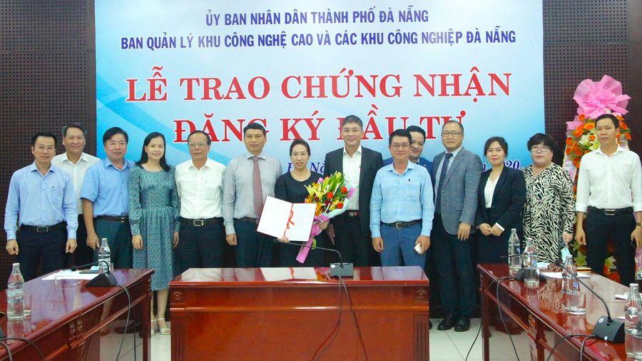 Đà Nẵng: Trao chứng nhận đầu tư cho dự án 600 tỷ đồng