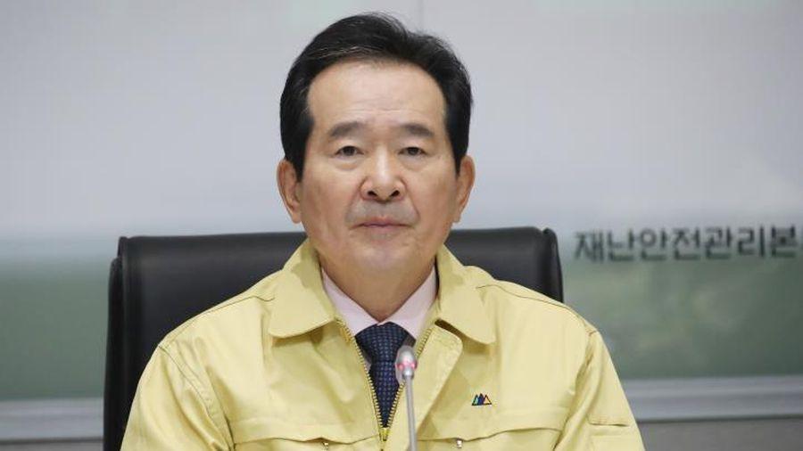 Thủ tướng Hàn Quốc phải xét nghiệm Covid-19