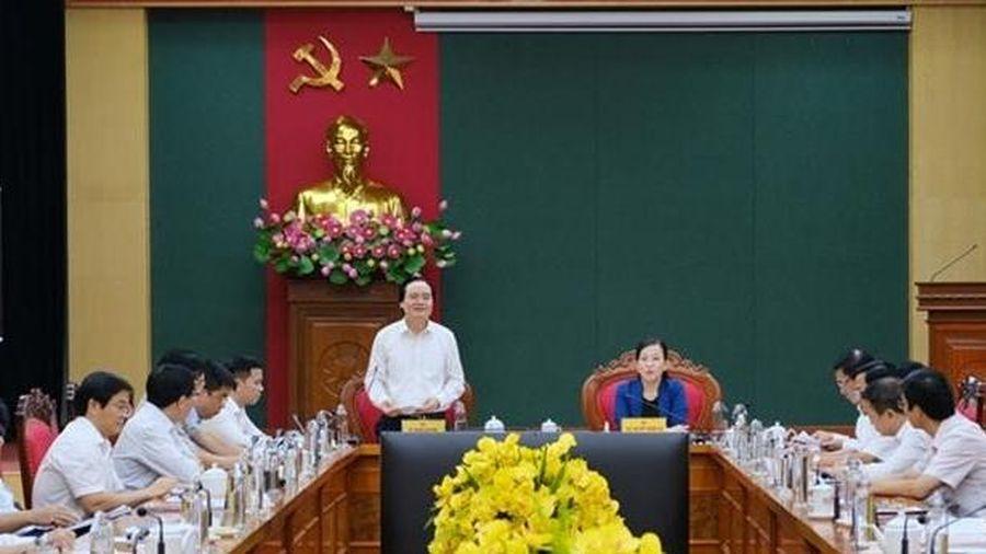 ĐH Thái Nguyên cần hỗ trợ địa phương phát triển nguồn nhân lực