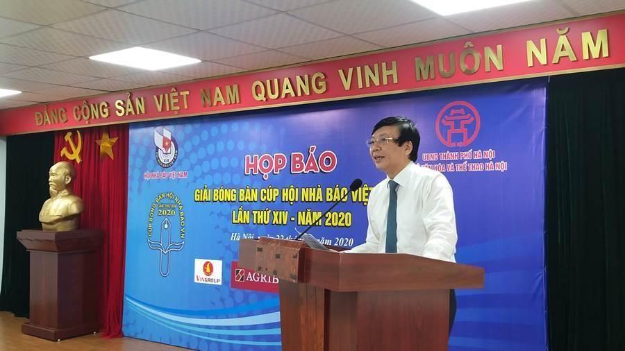Hơn 200 tay vợt dự giải bóng bàn Cúp Hội Nhà báo Việt Nam