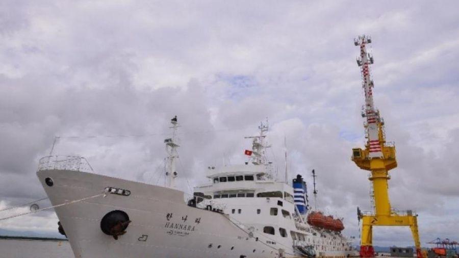 Cận cảnh tàu huấn luyện hiện đại nhất Việt Nam vừa tiếp nhận