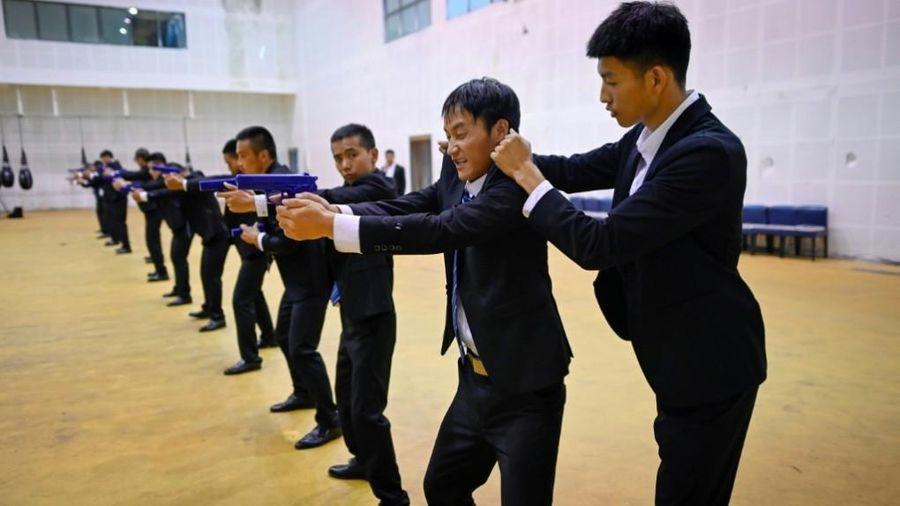 Bên trong trường đào tạo vệ sĩ tại Trung Quốc