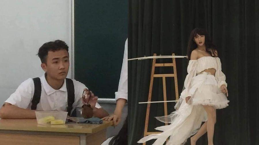 Lớp thiếu các bạn nữ diễn văn nghệ, nam sinh đành 'thế thân' với màn giả gái đỉnh cao khiến hội chị em xuýt xoa ghen tỵ