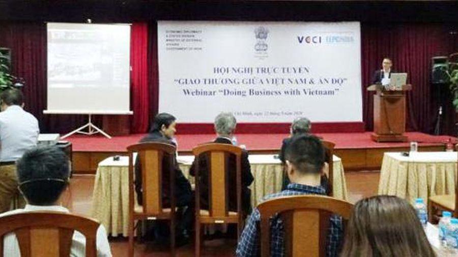 Hội nghị trực tuyến giao thương giữa Việt Nam và Ấn Độ