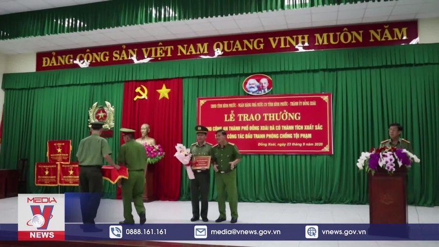 Bình Phước tuyên dương công an TP. Đồng Xoài