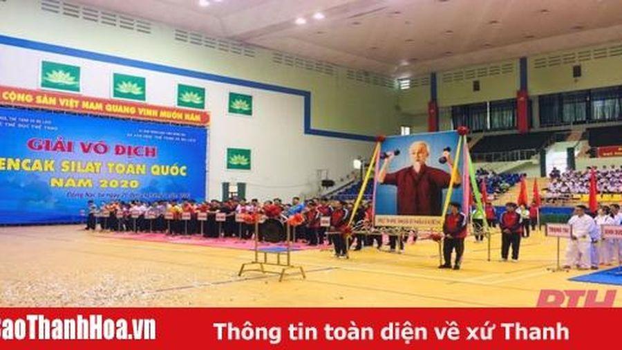 Giải Vô địch Pencak Silat toàn quốc 2020: Thanh Hóa đặt mục tiêu nằm trong Top 3