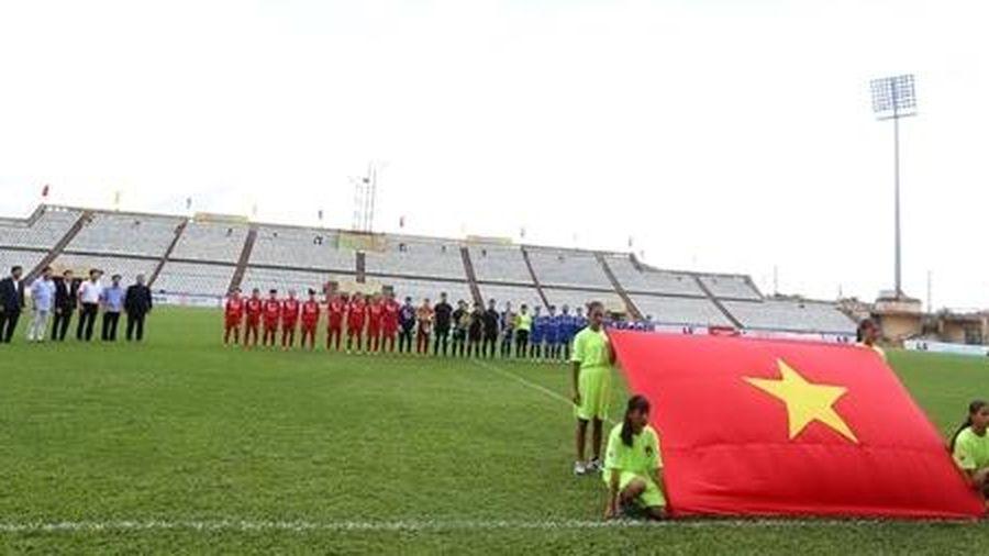 Khai mạc giải Bóng đá nữ VĐQG – Cúp Thái Sơn Bắc 2020