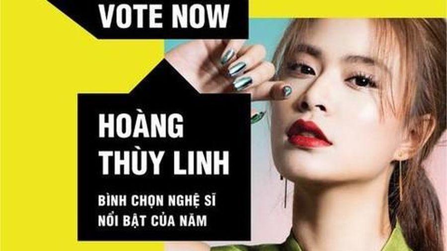 Hoàng Thùy Linh vào đề cử MTV Việt Nam
