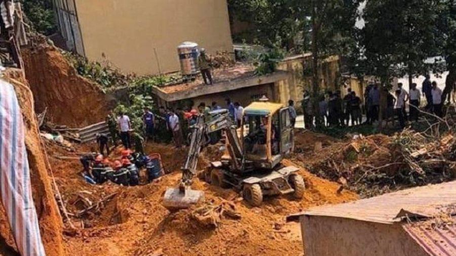 Sập taluy làm 4 người chết ở Phú Thọ: Khởi tố một bị can