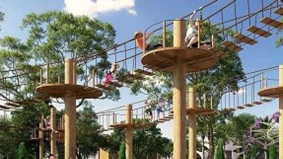 Cam kết hoàn thiện tiện ích, Gem Sky World giới thiệu nhà phố phân khu Topaz Town