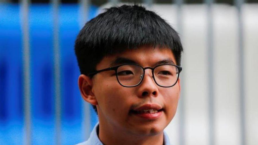 Hoàng Chi Phong bị cảnh sát Hong Kong bắt giữ