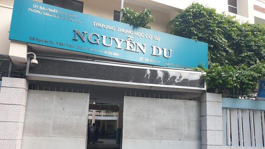 Trường trung học cơ sở Nguyễn Du cắt hai ngày bữa chiều của học sinh bán trú