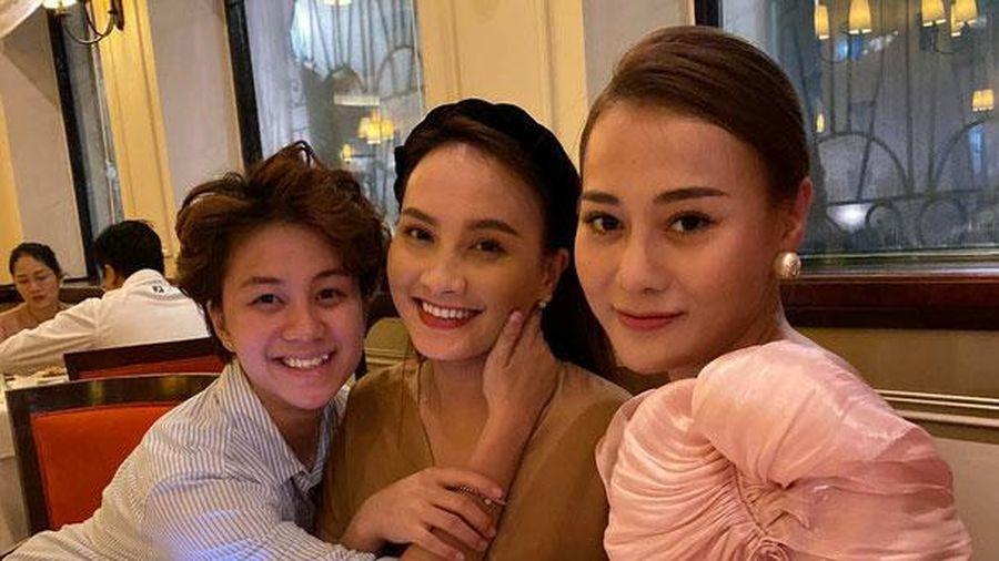 Phương Oanh 'tiệc tùng' cùng Bảo Thanh, Huyền Lizzie dịp sinh nhật