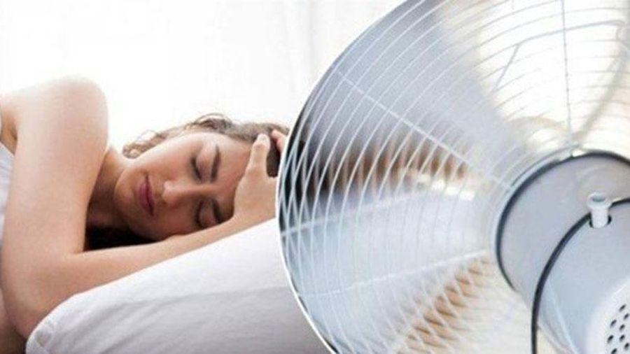 Những điều cần lưu ý khi bật quạt lúc ngủ