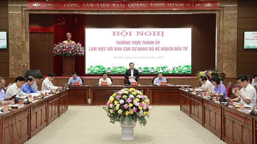 Hà Nội đề xuất ngân sách Trung ương hỗ trợ vốn cho một số dự án lớn