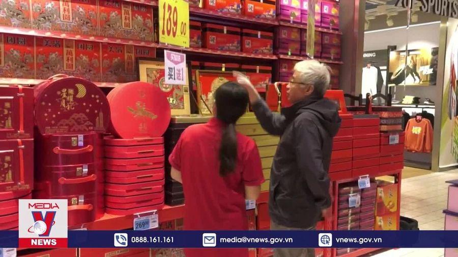 Sôi động thị trường bánh Trung thu ở Trung Quốc