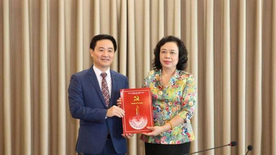 Chánh Văn phòng Thành ủy Hà Nội vừa được bổ nhiệm là ai?