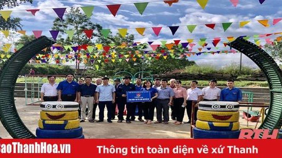 Huyện Thọ Xuân khánh thành khu vui chơi cho thiếu nhi