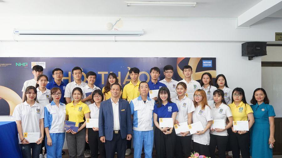 Trường ĐH Bà Rịa - Vũng Tàu: 20 sinh viên nhận học bổng Nitori