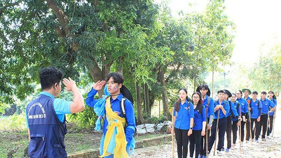 79 trại sinh tham gia trại rèn luyện Hào khí Đồng Nai