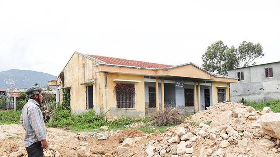 Trạm Y tế Ba Ngòi cũ được quy hoạch trường học