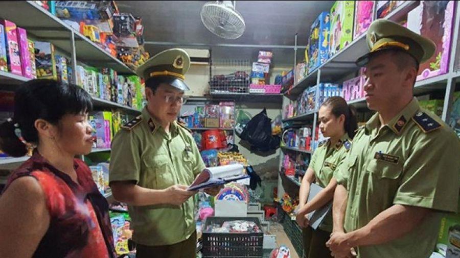 Bắc Giang thu giữ hơn 1500 đồ chơi trẻ em nguy hiểm tung ra thị trường