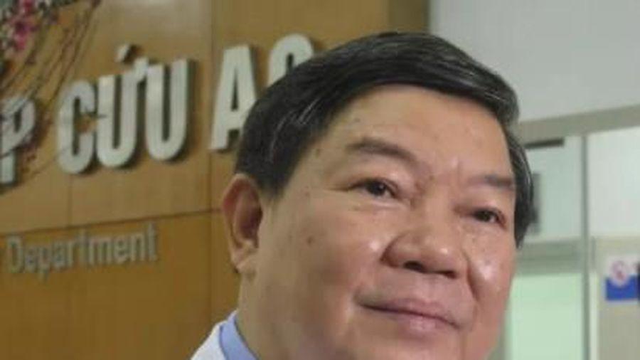 Bắt ông Nguyễn Quốc Anh – nguyên giám đốc Bệnh viện Bạch Mai