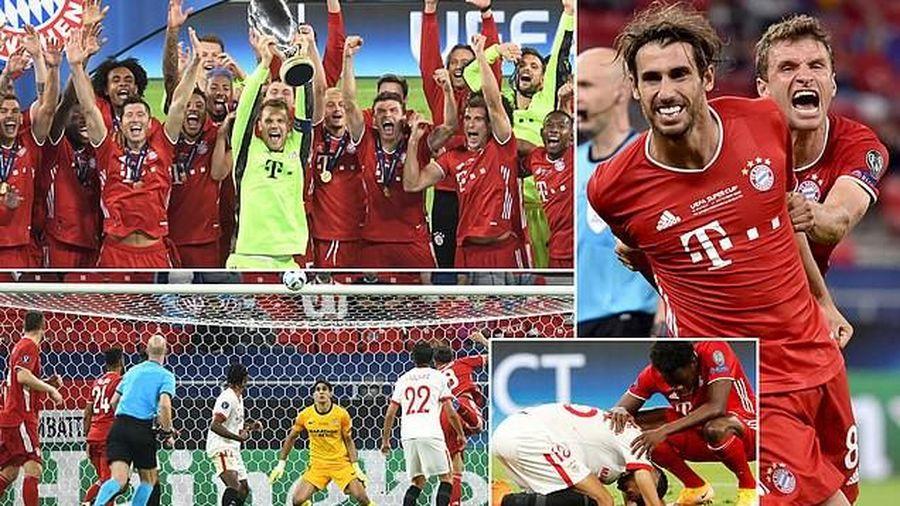 Neuer hóa siêu nhân, Bayern Munich đăng quang siêu cúp châu Âu