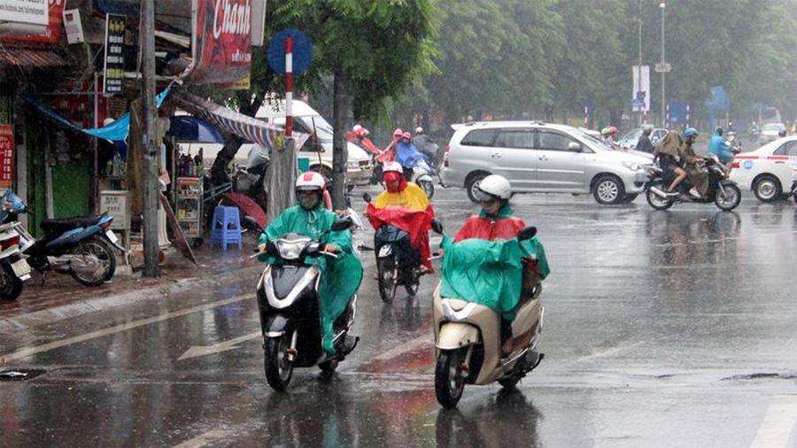 Thời tiết hôm nay 25/9: Bắc Bộ và Hà Nội mưa dông vài nơi