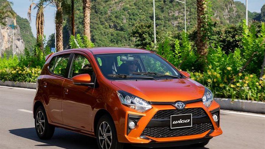 Giá xe ô tô hôm nay 25/9: Toyota Wigo có giá thấp nhất ở mức 352 triệu động
