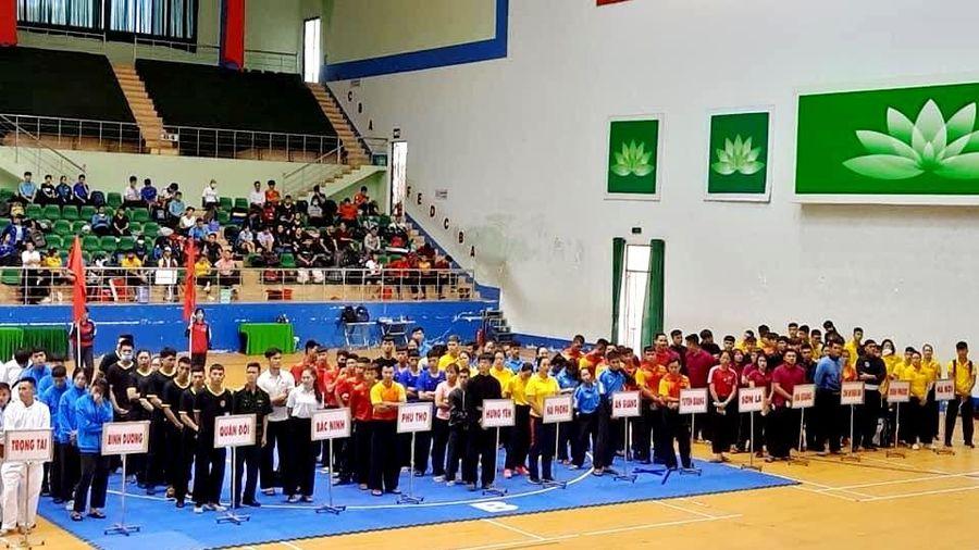 Gần 300 VĐV tham dự Giải vô địch Pencak Silat toàn quốc 2020
