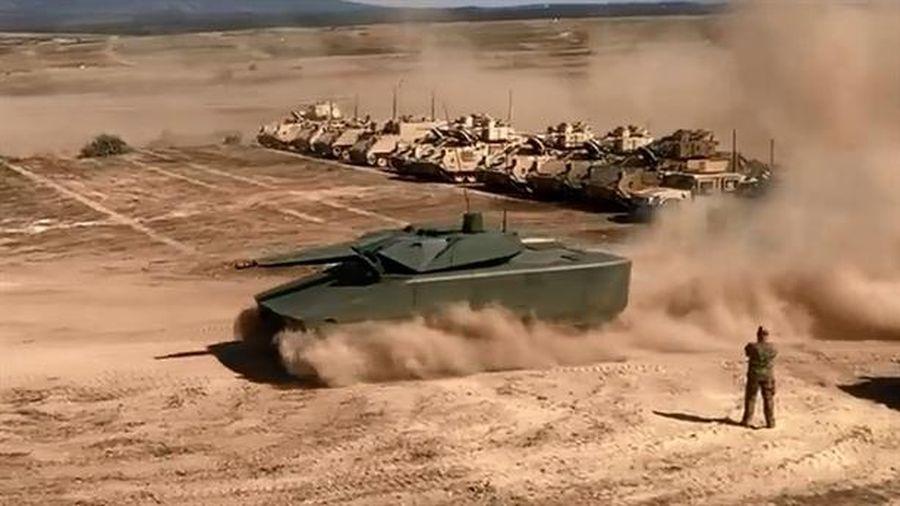 Rheinmetall khoe xe chiến đấu tàng hình diệt mục tiêu cách 25km