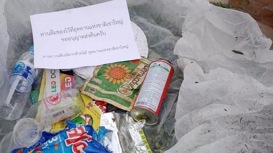 Du khách xả rác bừa bãi sẽ được gửi bưu điện tới tận nhà và phạt tù
