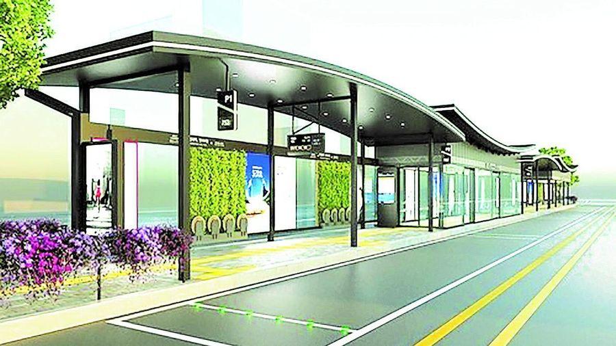 Hàn Quốc: Đưa kiến trúc hanok vào nhà chờ xe buýt