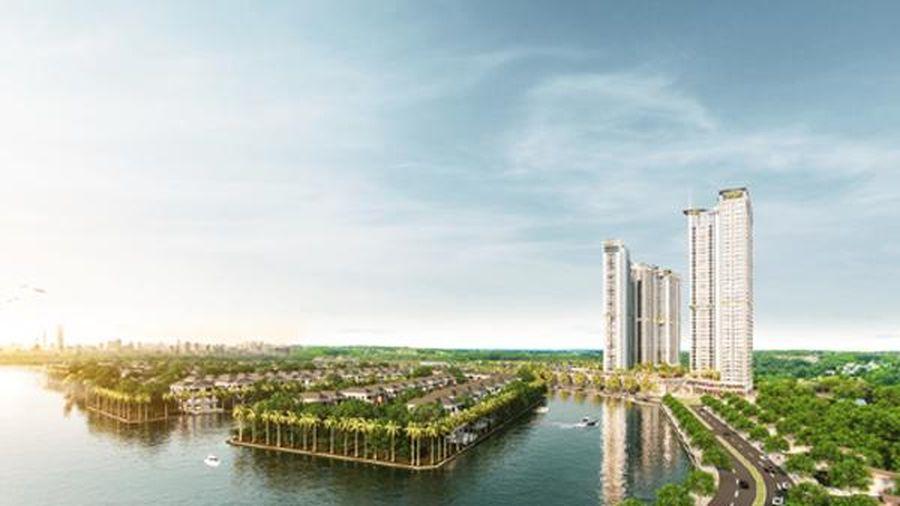Ecopark triển khai tòa tháp căn hộ 5 sao có cầu pha lê giữa không trung