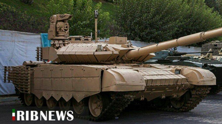 Iran trưng bày xe tăng T-72 tự nâng cấp