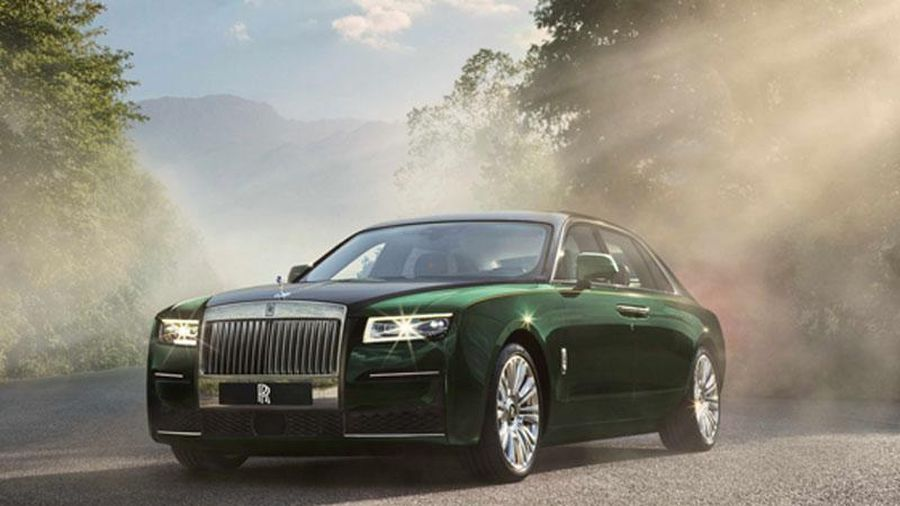 Rolls-Royce hé lộ phiên bản Extended siêu xe Ghost mới