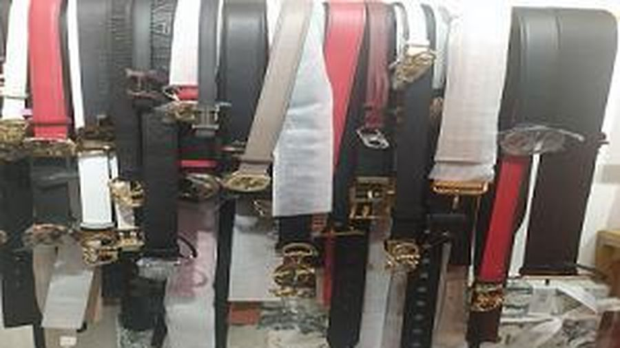 Bắc Ninh: Tịch thu, tiêu hủy 500 dây thắt lưng giả mạo nhãn hiệu Gucci