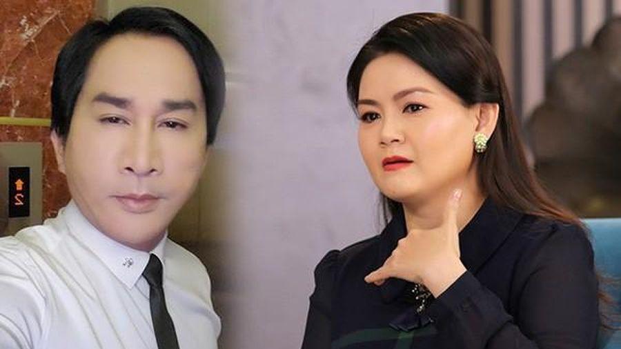 Vợ Kim Tử Long bị nhắn tin nặc danh vu 'giật chồng', 'đào mỏ'