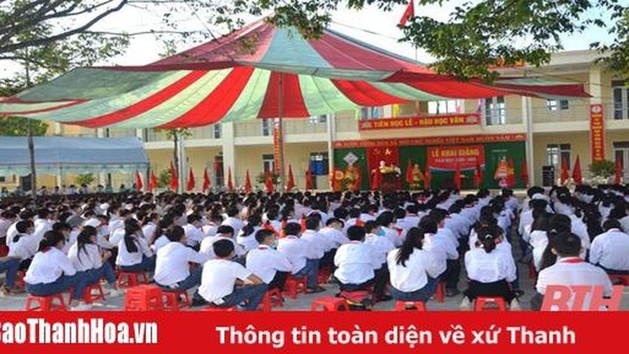 Ngành giáo dục Hậu Lộc vững tin bước vào năm học mới