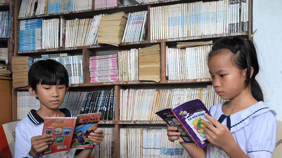 'Tiếp sức đến trường' Câu chuyện từ những cuốn sách cũ