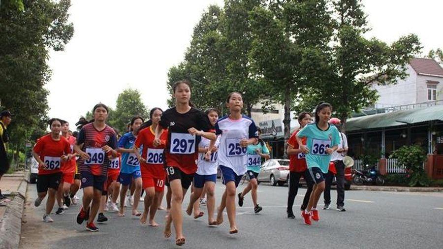 185 vận động viên dự giải Việt dã, Điền kinh và Bơi lội cấp tỉnh năm 2020