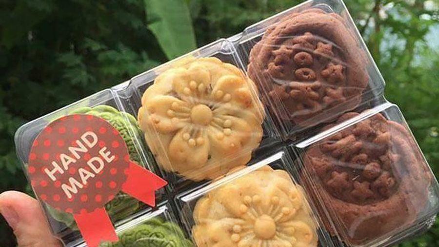 Thận trọng khi mua bánh Trung thu ''handmade''