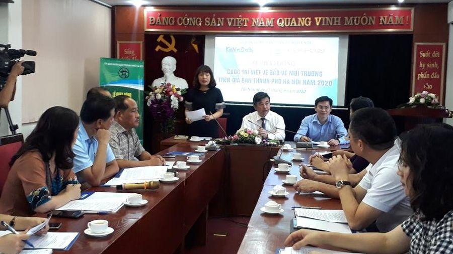 Phát động cuộc thi viết về bảo vệ môi trường Hà Nội
